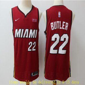 Miami Heat Jimmy Butler Jersey Red